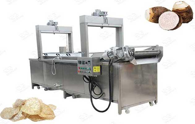 taro chips deep fryer commercial