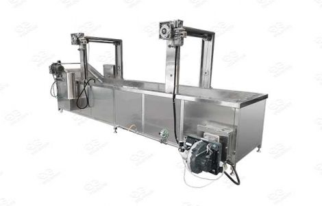 continuous blanching machine