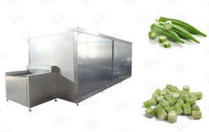 Frozen Okra Processing Line