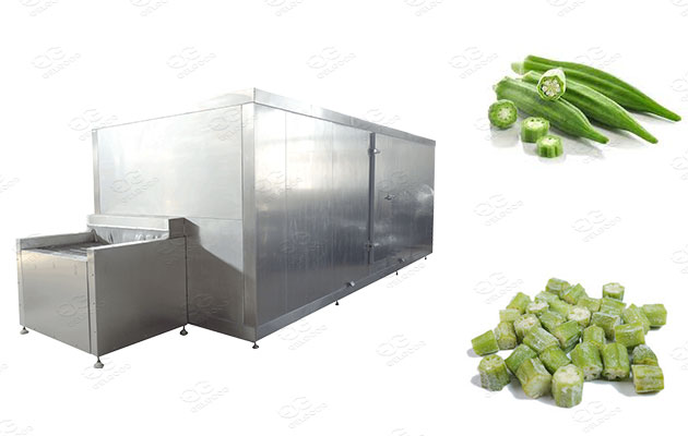frozen okra making machines for sale