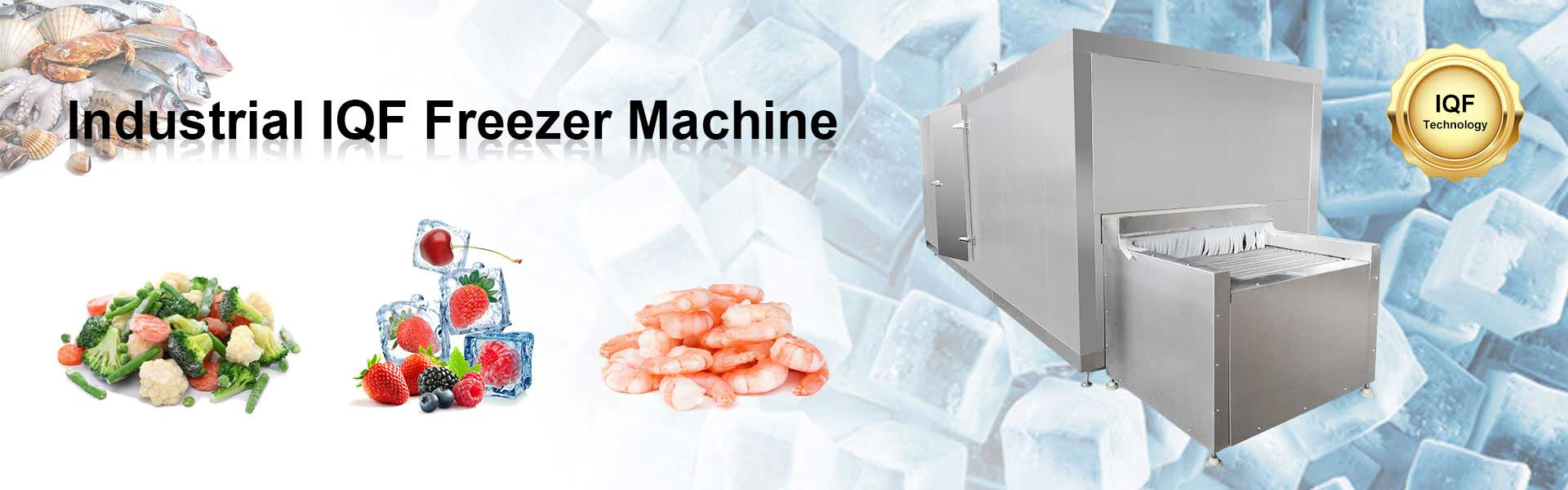vegetable freezing machine industrial