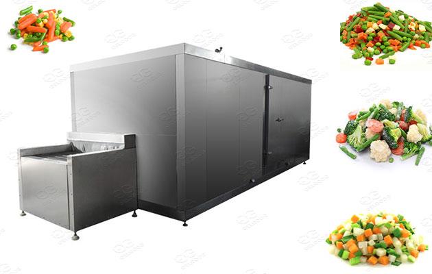 mixed vegetable freezing making machines