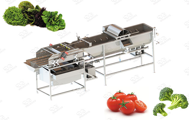 Spiral Washer Machine for Vegetables