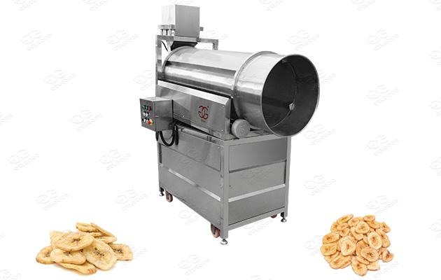 banana chips seasoning equipment