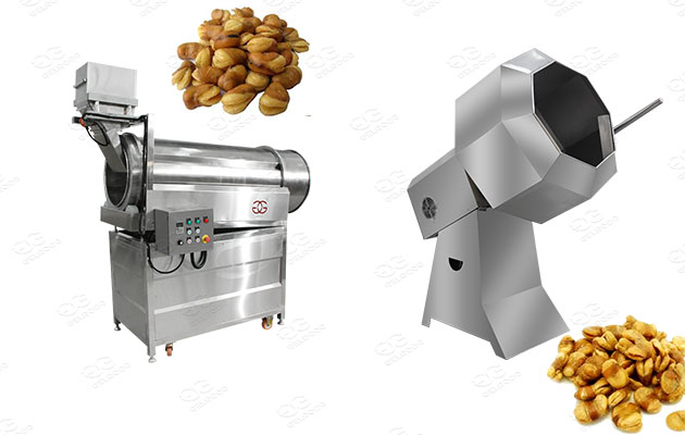 industrial fried fava beans flavoring machine