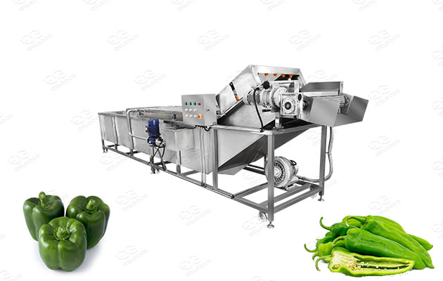 commercial pepper washer and cleaner