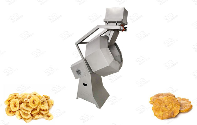 plantain chips flavoring equipment