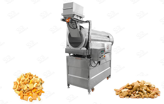 commerical rice crackers flavoring equipment
