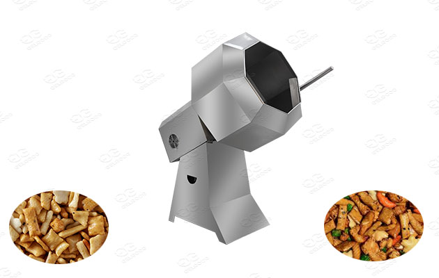 commercial rice cracker flavoring machine