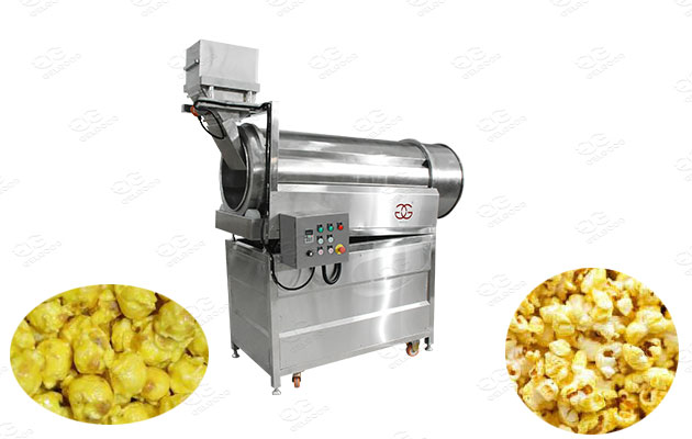 caramel popcorn flavoring equipment